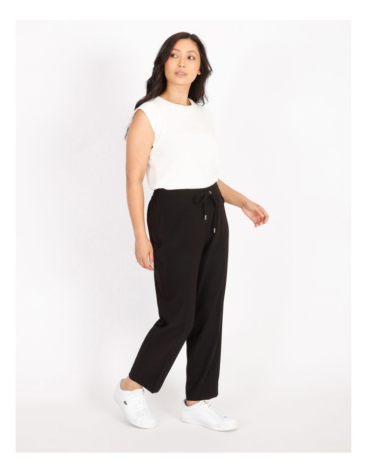 Petite Crepe Relaxed Jogger Pants image 2