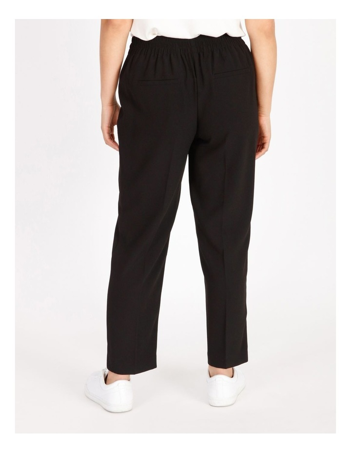 Petite Crepe Relaxed Jogger Pants image 3
