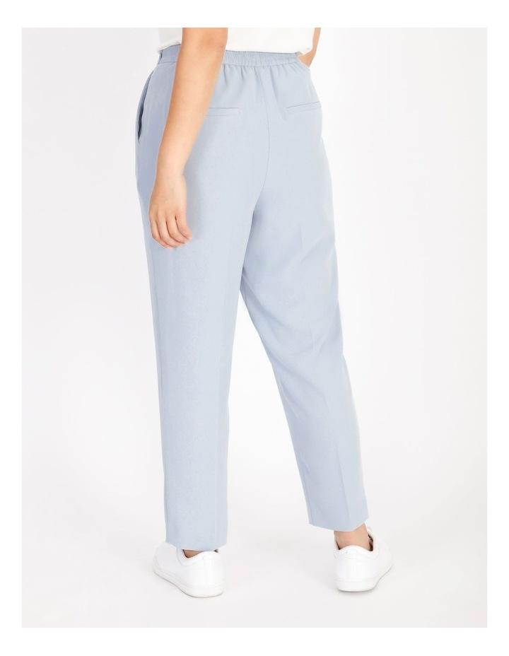 Petite Soft Elasticated Tapered Crepe Pants image 3