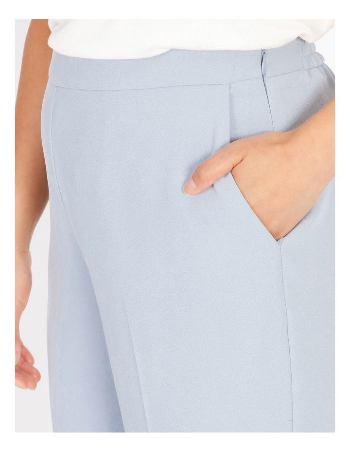 Petite Soft Elasticated Tapered Crepe Pants image 4