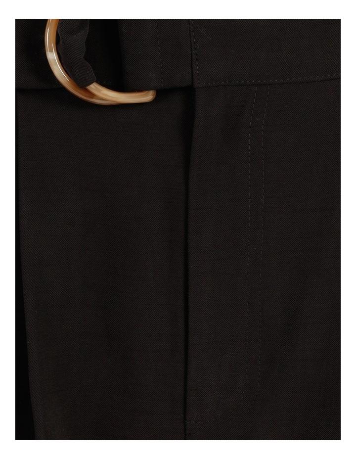 Belt Detail Elastic Tapered Pants image 6