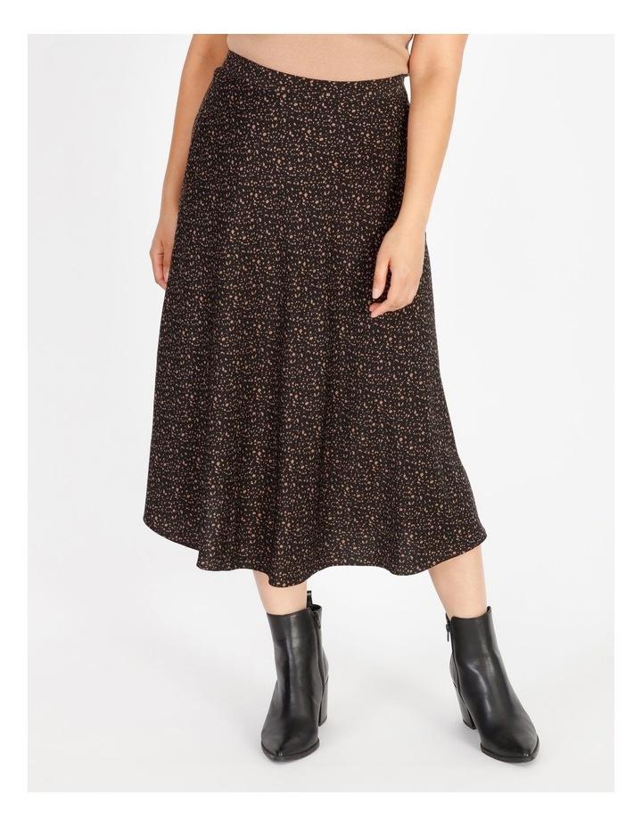 Petite Satin Midi Skirt image 1