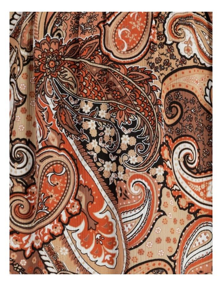 Petites Elastic Waist Tiered Midi Skirt image 5