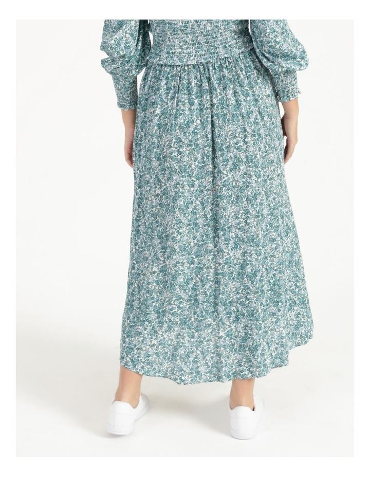 Petite Aline Printed Wrap Midi Skirt image 4