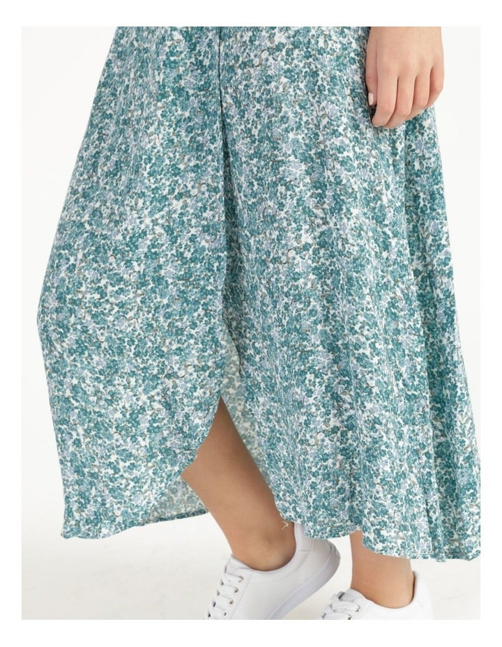 Petite Aline Printed Wrap Midi Skirt image 5