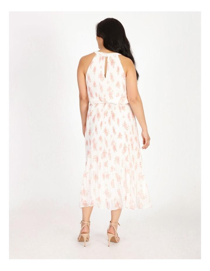 Petite Halter Midi Dress image 3
