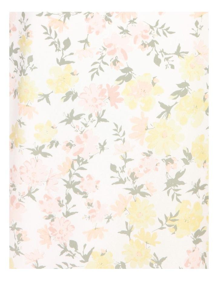 Petite Puff Sleeve Tea Dress image 5