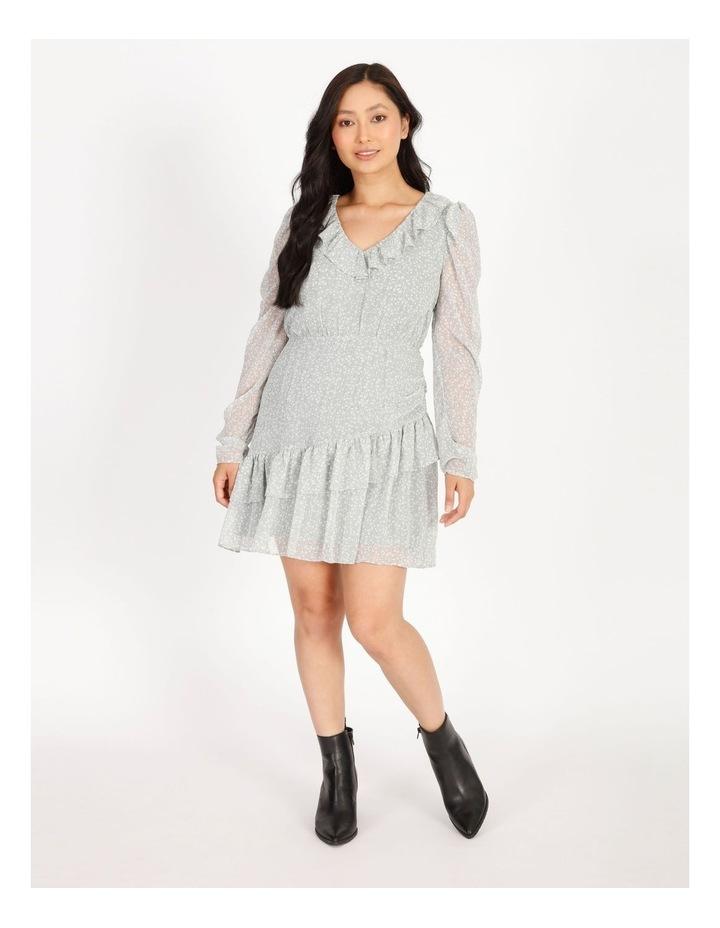 Petite Ruffle Wrap Mini Dress image 1