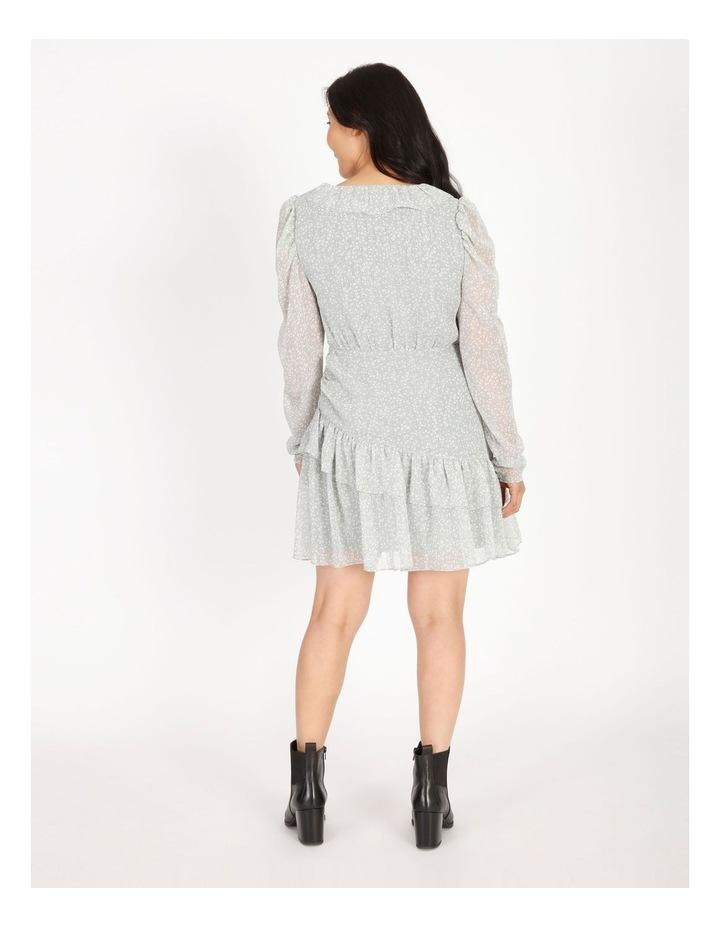 Petite Ruffle Wrap Mini Dress image 3