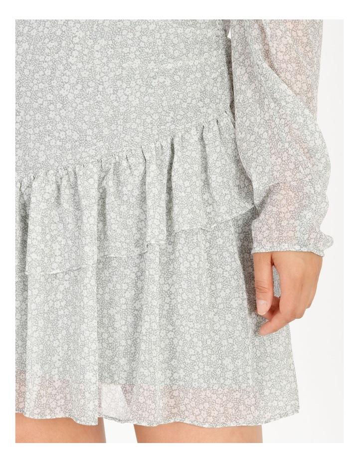 Petite Ruffle Wrap Mini Dress image 5
