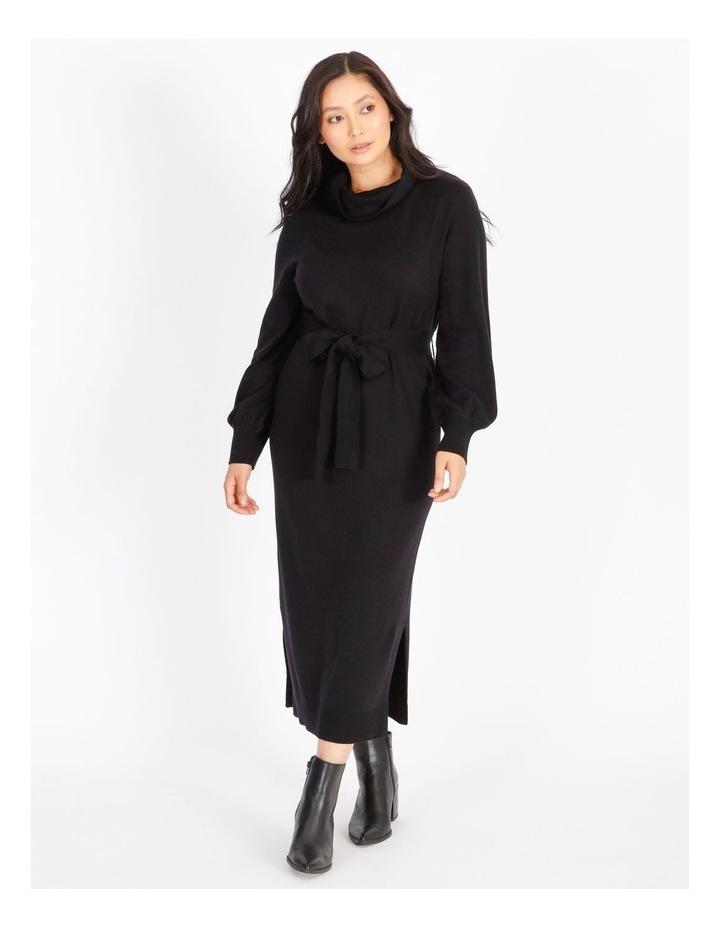 Petite Wool-Blend Knit Dress image 1