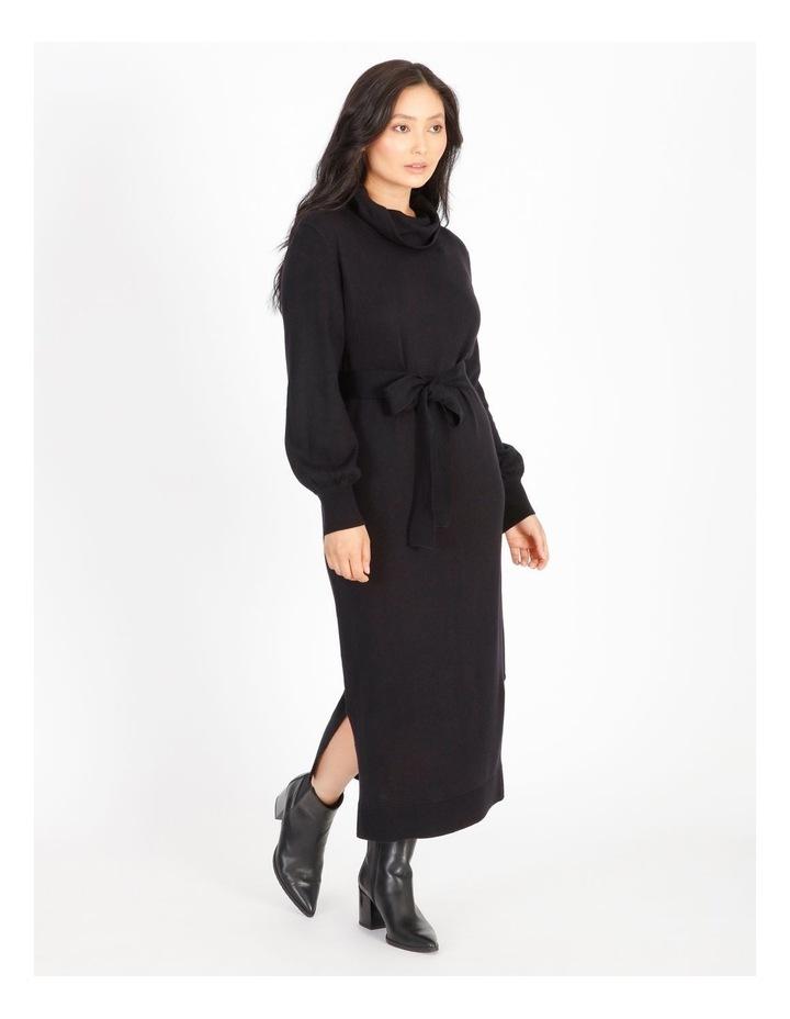 Petite Wool-Blend Knit Dress image 2