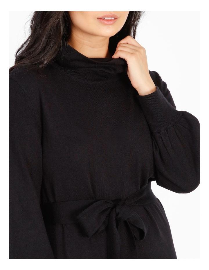 Petite Wool-Blend Knit Dress image 4