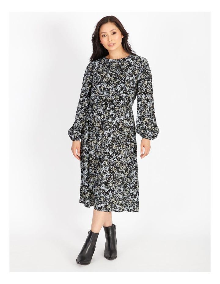 Petite Ditzy Floral Midi Dress image 1