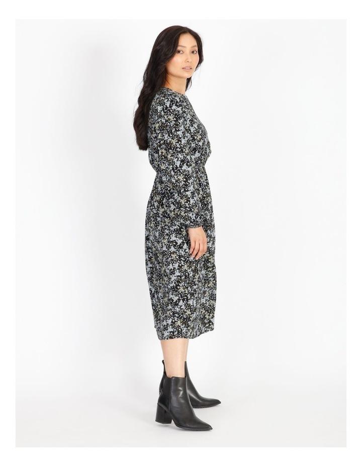 Petite Ditzy Floral Midi Dress image 2