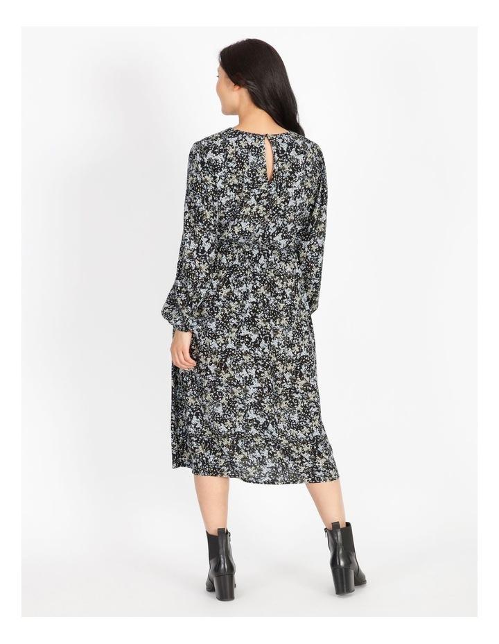 Petite Ditzy Floral Midi Dress image 3