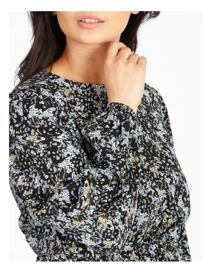 Petite Ditzy Floral Midi Dress image 4