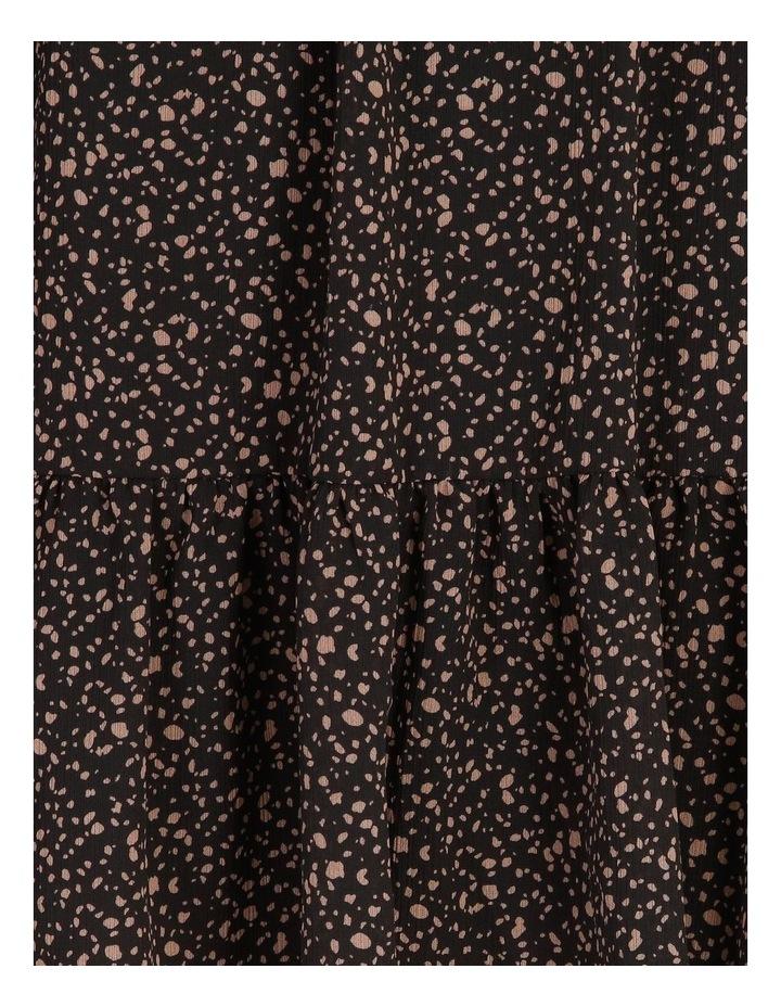 Petite Shirred Long Sleeve Mini Dress image 5