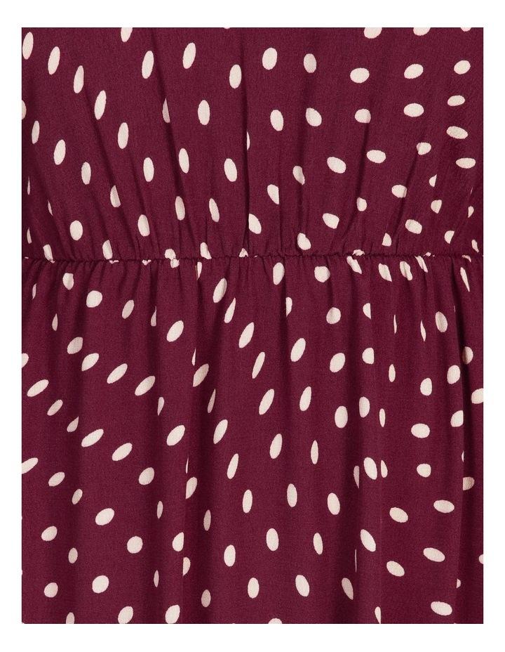 Blouson-Sleeve Midi Dress image 5
