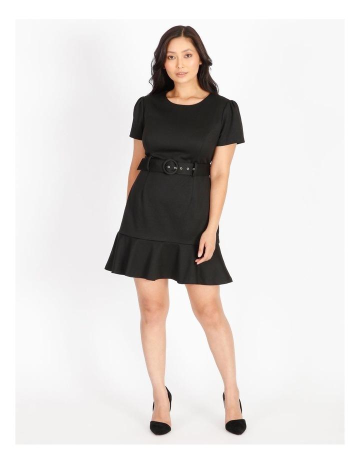 Petite Fit & Flare Mini Dress image 1