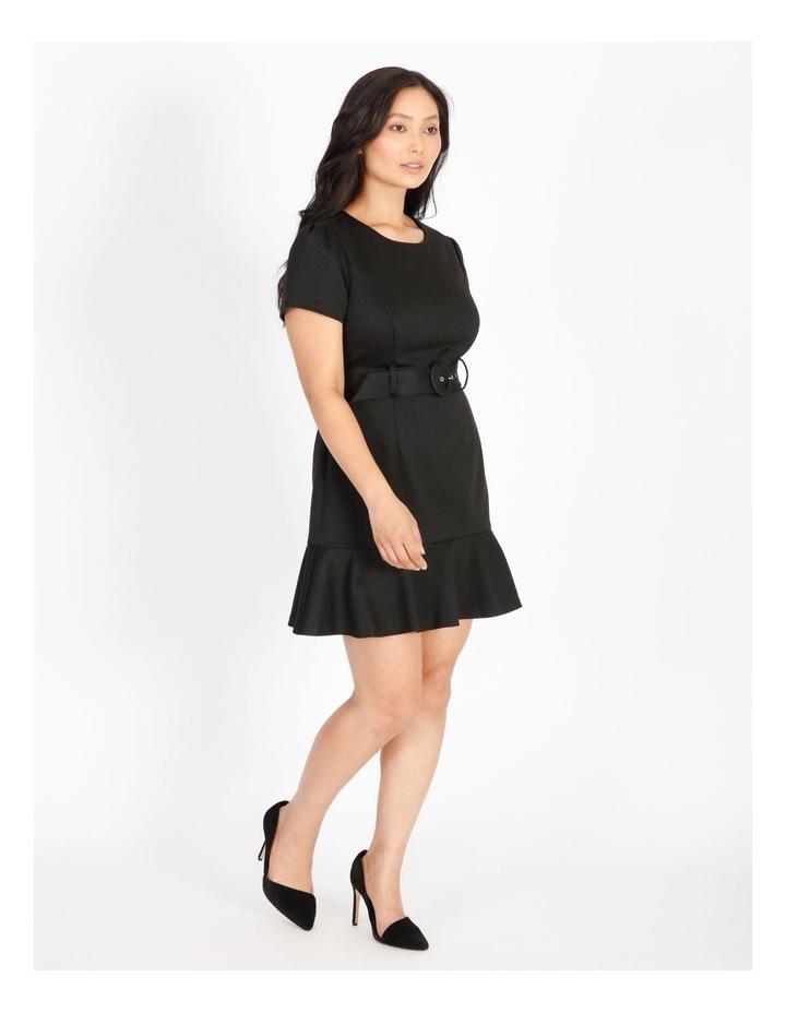 Petite Fit & Flare Mini Dress image 2