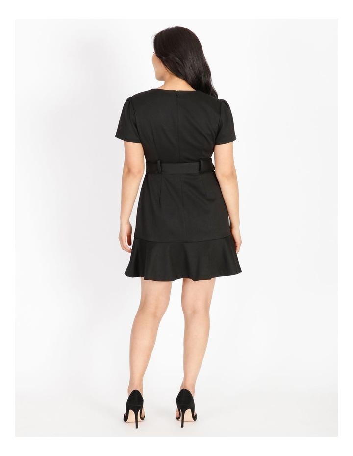 Petite Fit & Flare Mini Dress image 3
