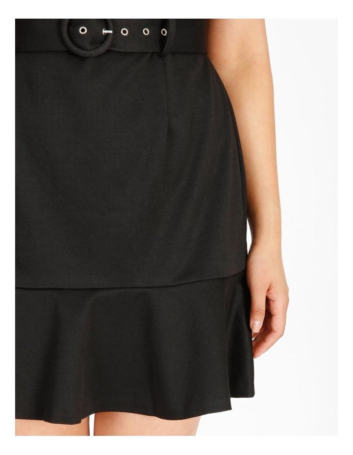 Petite Fit & Flare Mini Dress image 5