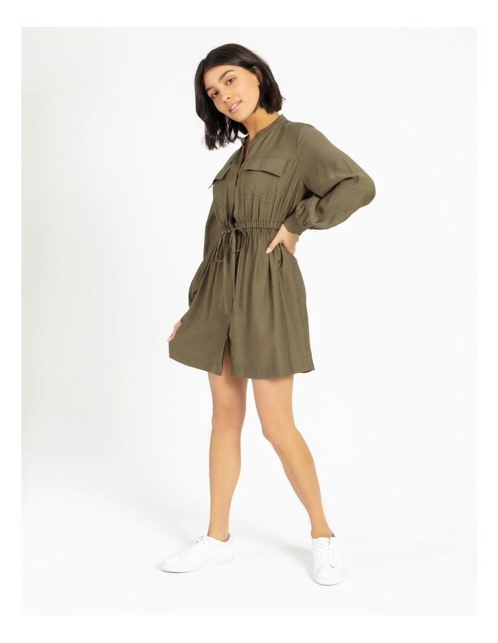 Utility Mini Shirt Dress image 1