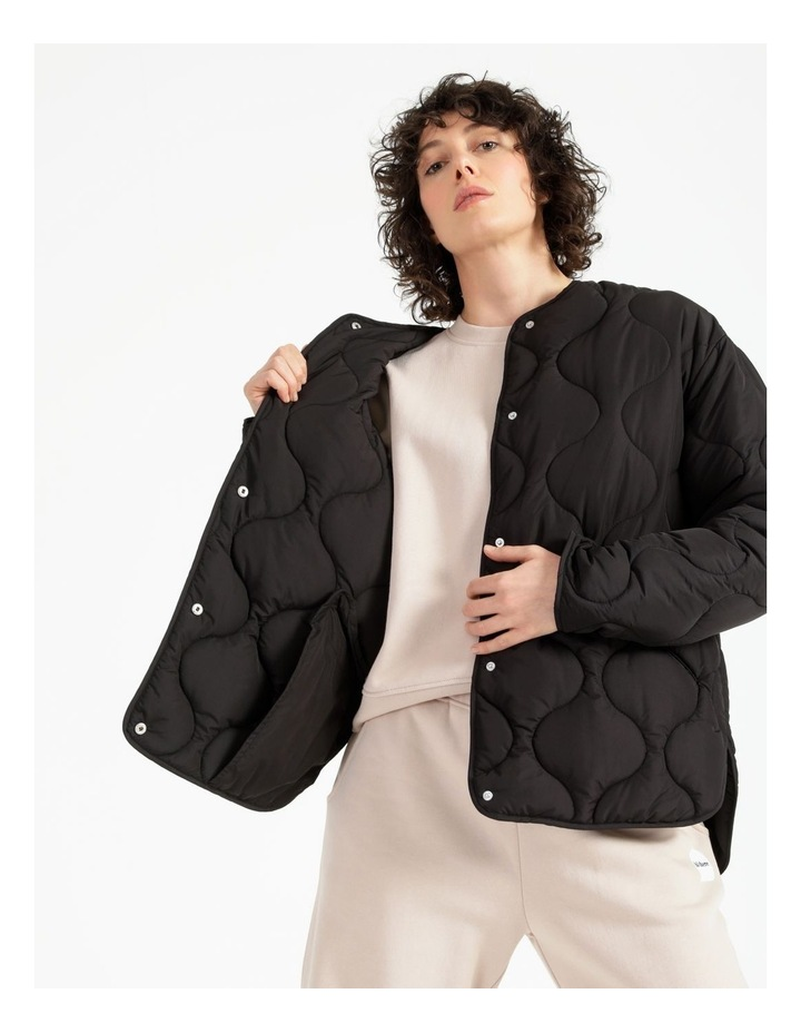 Recycled Quilted Puffer Jacket image 3