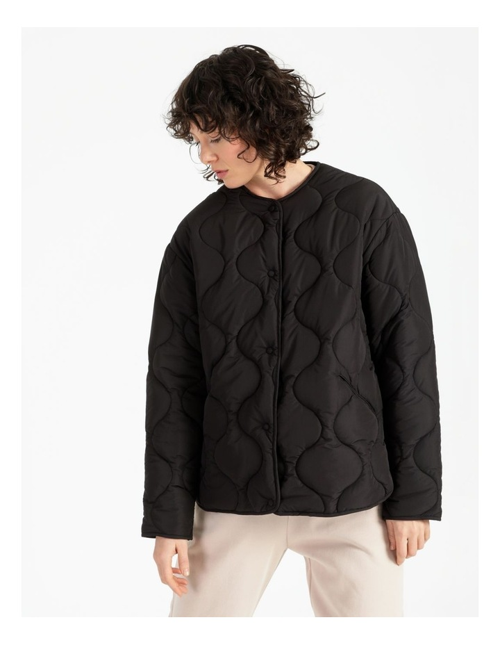 Recycled Quilted Puffer Jacket image 4
