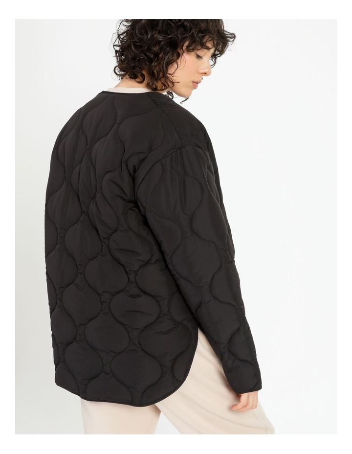 Recycled Quilted Puffer Jacket image 5