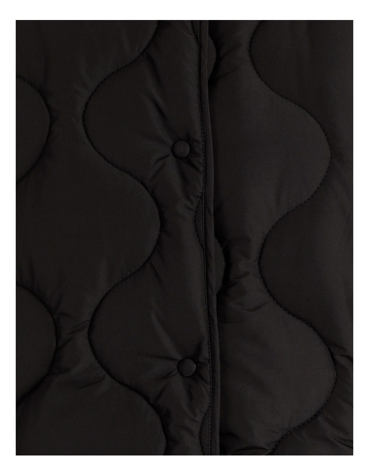 Recycled Quilted Puffer Jacket image 7