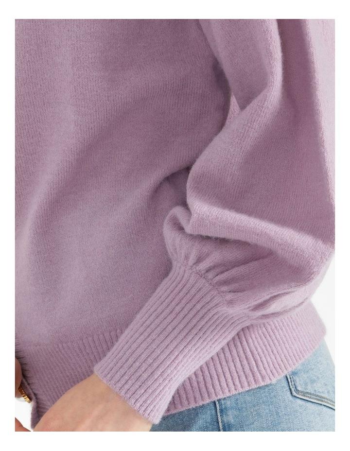 Blouson Sleeve Cardigan image 4