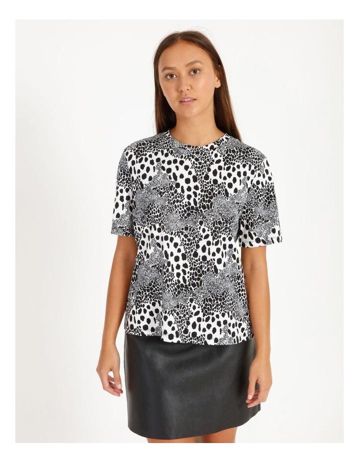Printed Cotton Blend T-Shirt image 1