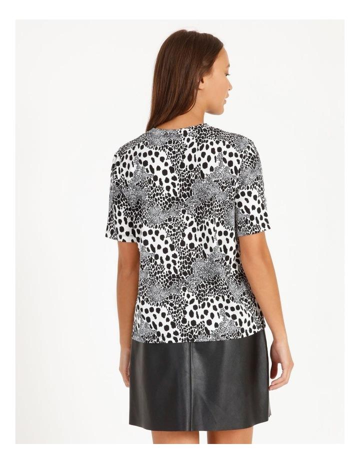 Printed Cotton Blend T-Shirt image 3