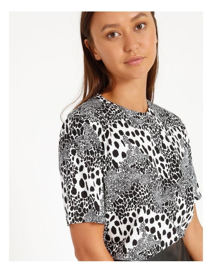 Printed Cotton Blend T-Shirt image 4