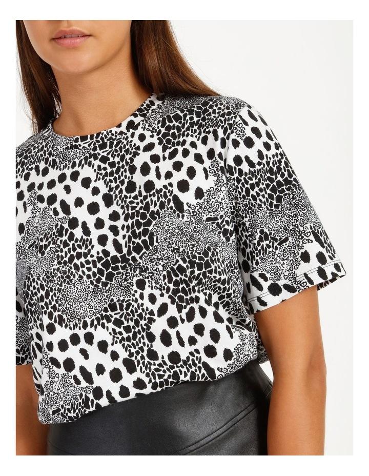 Printed Cotton Blend T-Shirt image 5