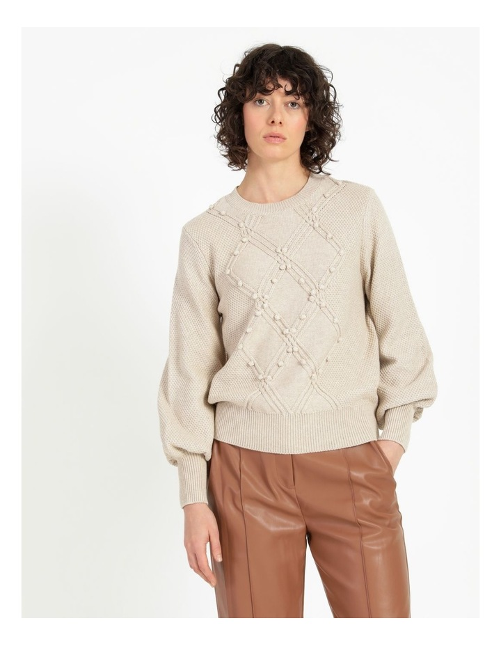 Bobble Knitted Jumper image 1