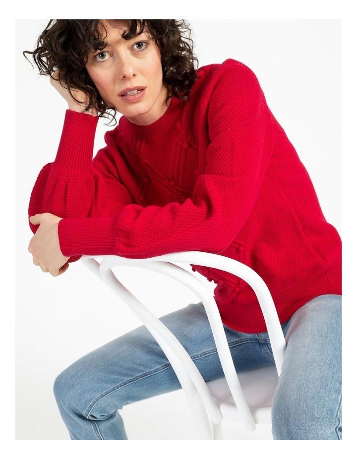 Bobble Knitted Jumper image 2