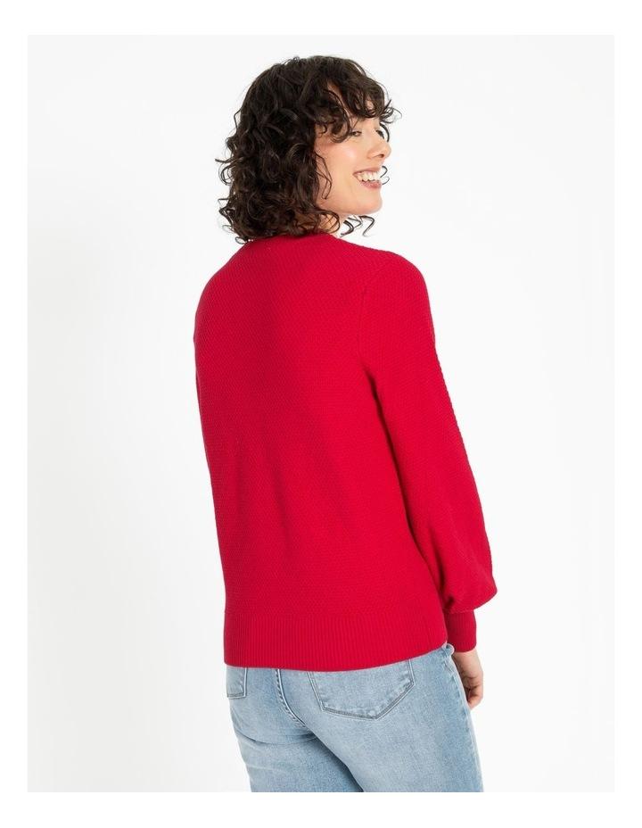 Bobble Knitted Jumper image 4