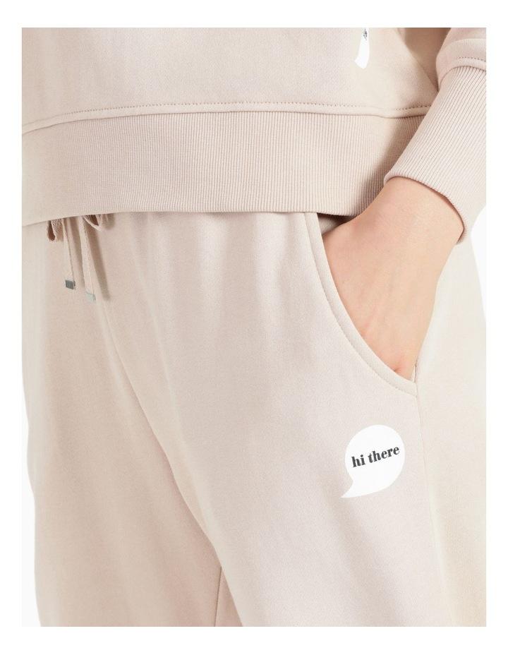 Organic Cotton Sweat Pants image 5
