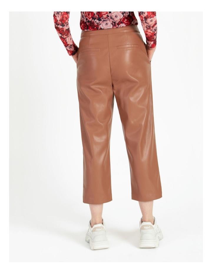 Straight Leg Faux Leather Pants image 4