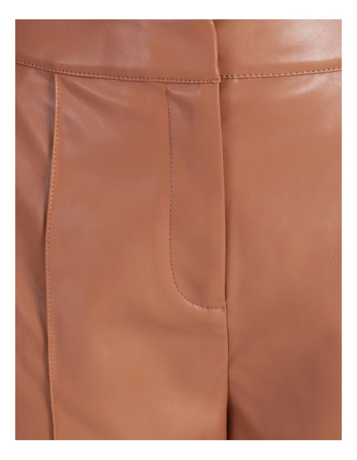 Straight Leg Faux Leather Pants image 6