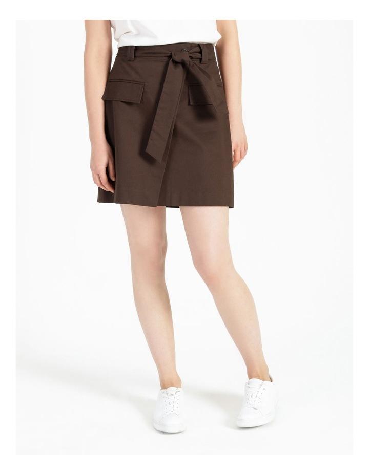Safari Detail Mini Skirt image 1