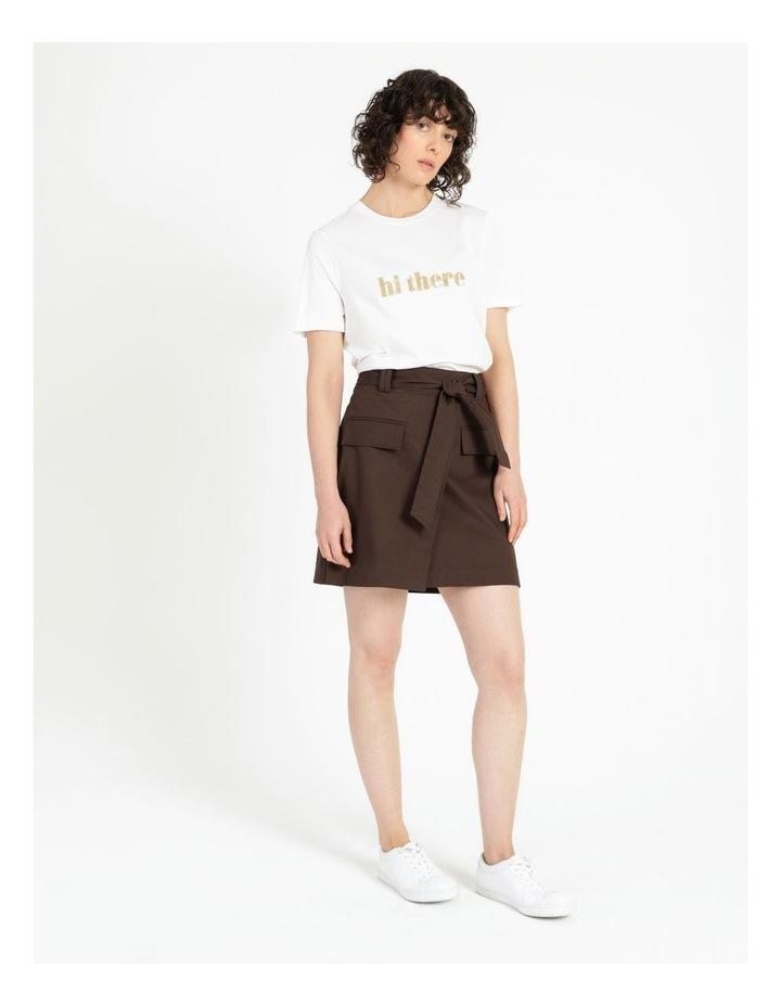 Safari Detail Mini Skirt image 2