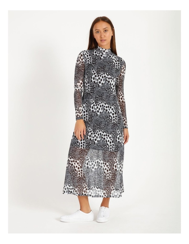 Midi Mesh Dress image 1