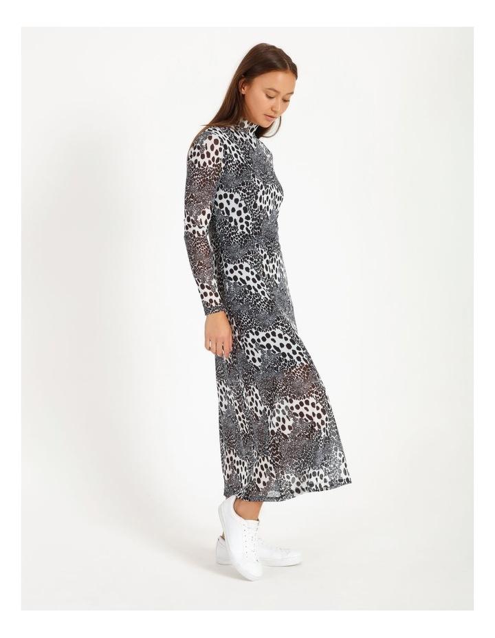 Midi Mesh Dress image 2