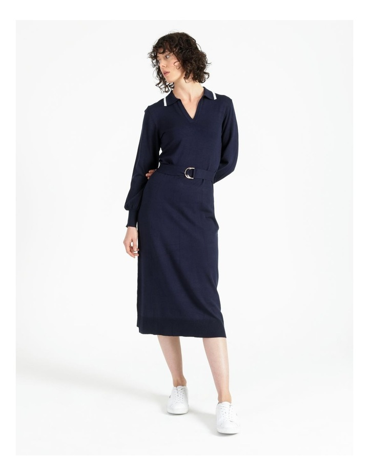 Knitted Polo Dress image 1