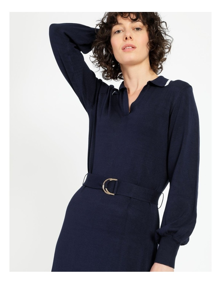 Knitted Polo Dress image 2
