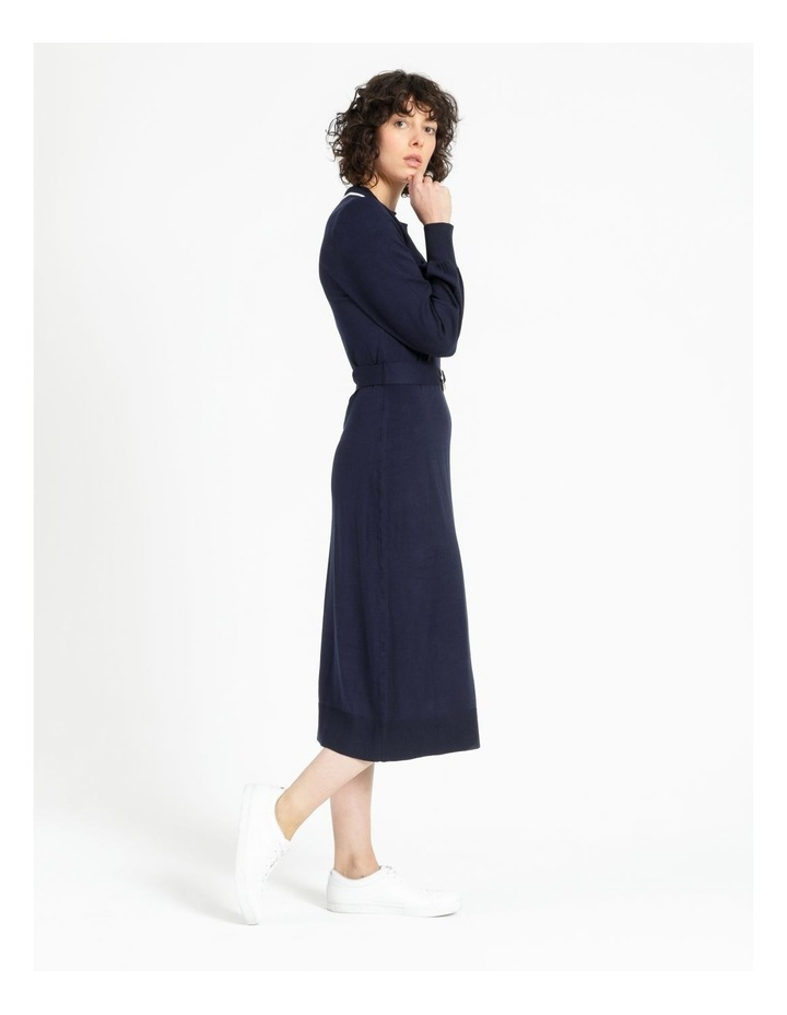Knitted Polo Dress image 3